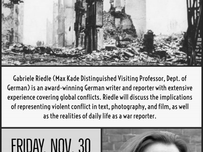 Reporters at War Flyer